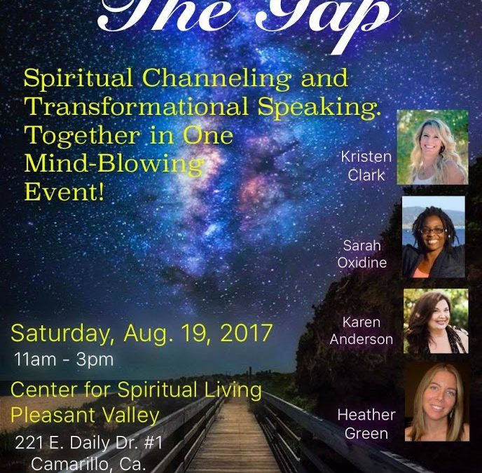 Bridging the Gap: A special Channeling Event