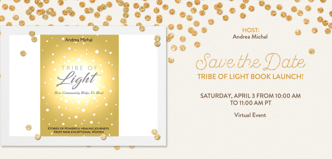 Join us! This Saturday: Tribe of Light Book Launch!